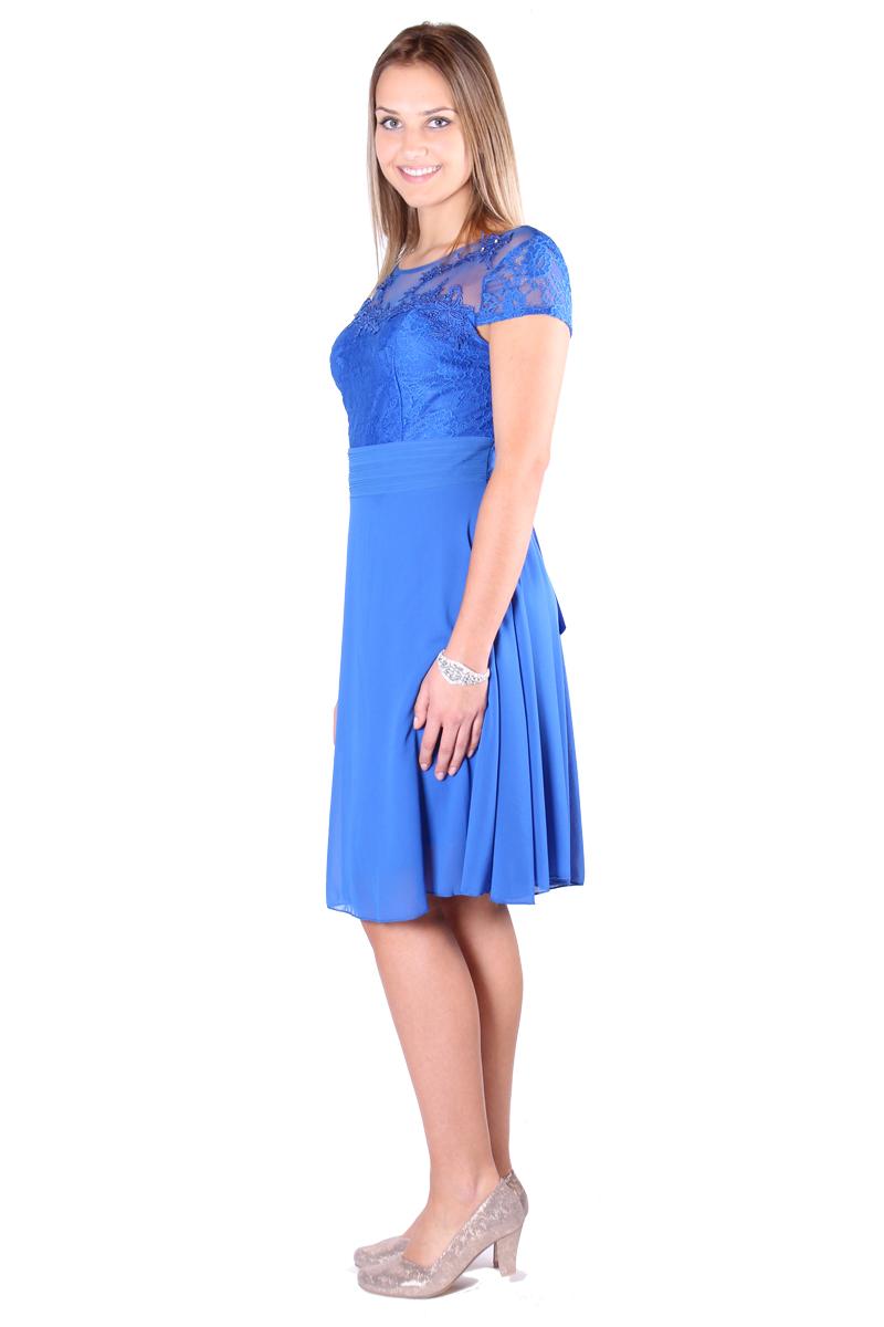 kurzes ballkleid hellblau - famos - fashion mostegl