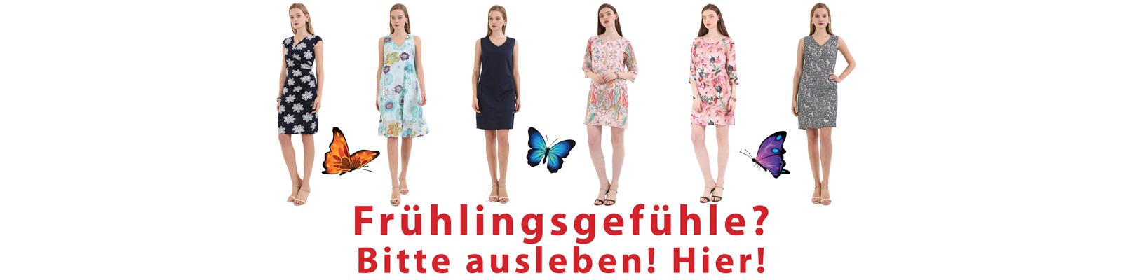 FAMOS 2018 Frühlingskleider Sommerkleider