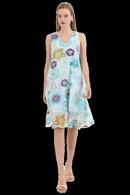 FAMOS Frühjahrskleid Sommerkleid