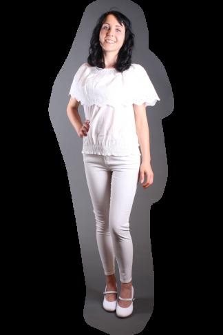 Weiße Hose, Weißes Shirt